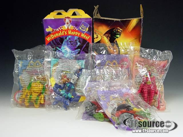 Beast Machines - McDonald's Happy Meal Lot 1 - MISB