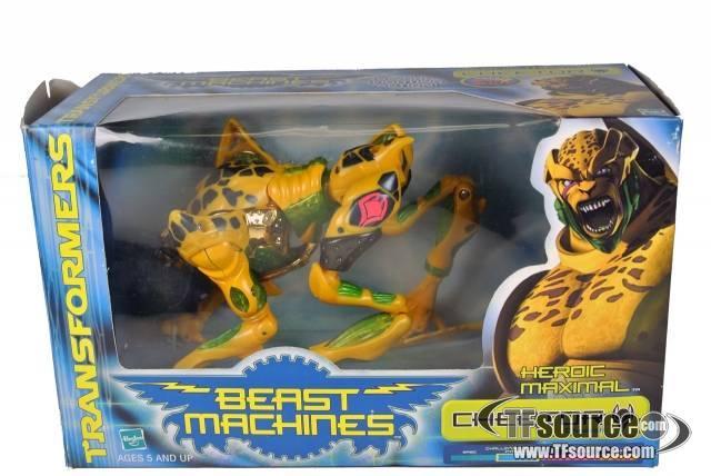 Beast Machines - Mega Cheetor - MIB - 100% Complete
