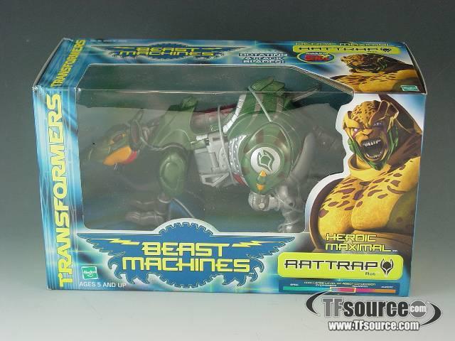 Beast machines - Mega - Rattrap