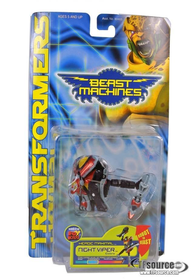 Beast Machines - Night Viper - MOSC