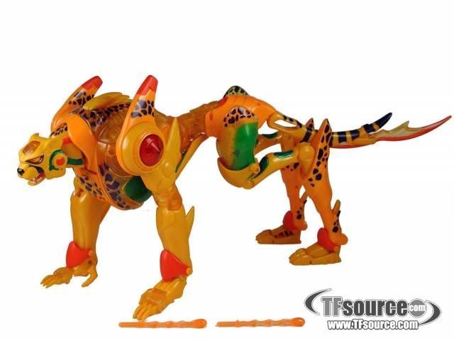 Beast Machines - Supreme Cheetor - Loose - 100% Complete