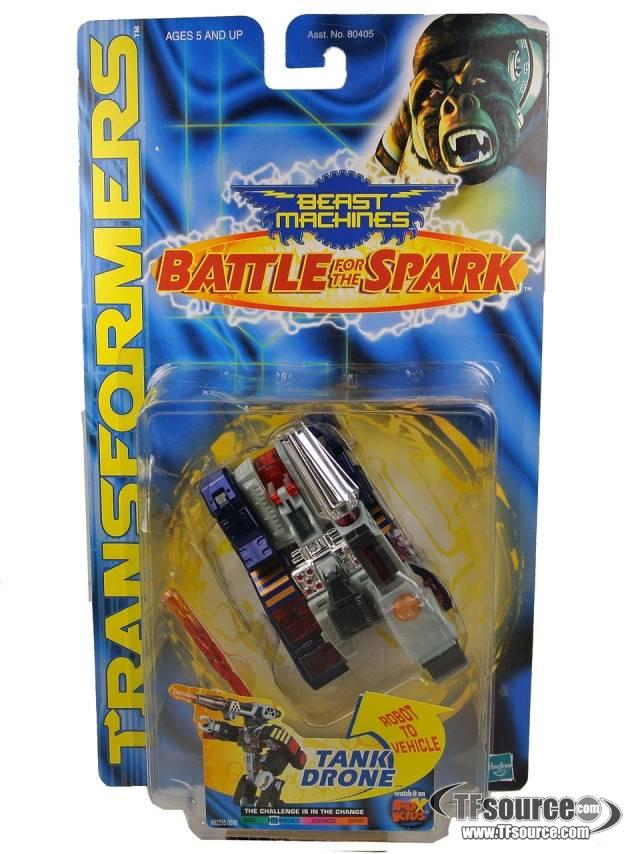 Beast machines - Battle For the Spark - Tank Drone - MOSC