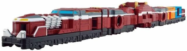 Bandai Ressha Sentai - Tokkyuger Train Union Series 8 Diesel Ressha