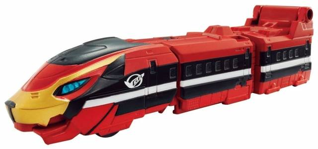 Bandai Ressha Sentai - Tokkyuger Train Union Series EX Go-Busters Ressha