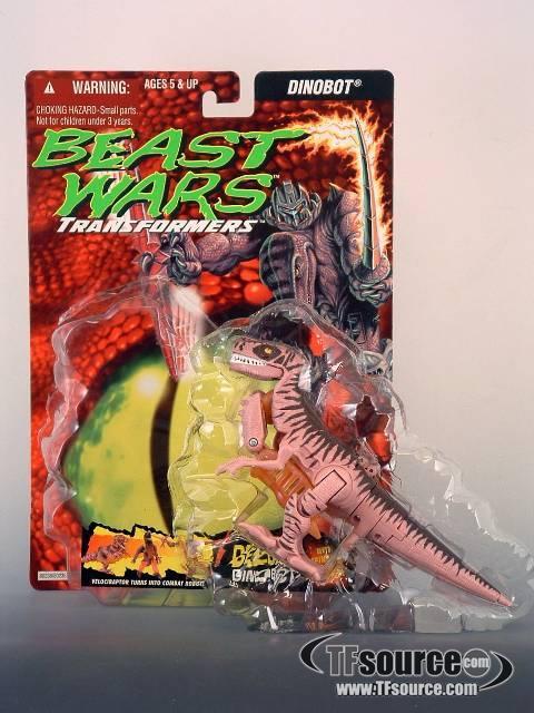 Beast Wars - Deluxe  - Dinobot  - MOC - 100% Complete