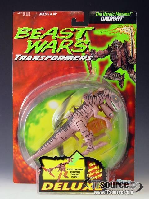 Beast Wars - Deluxe - Dinobot - MOSC