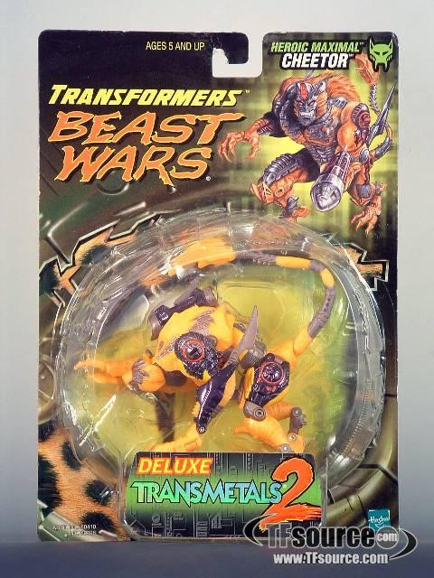 Beast Wars Deluxe Transmetal 2 Cheetor Mosc
