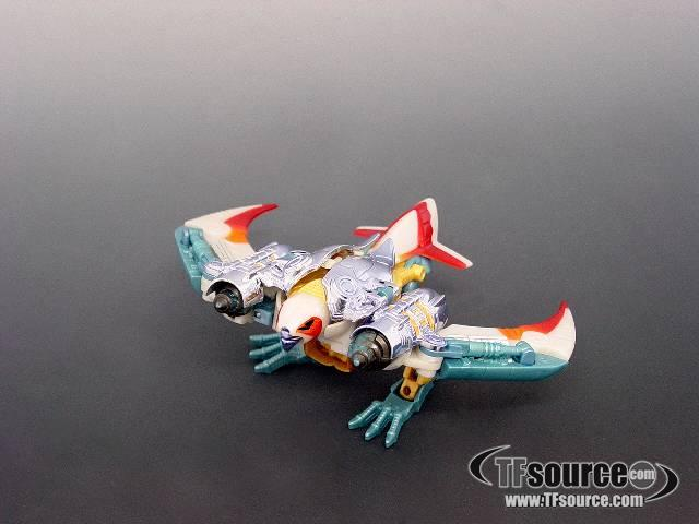 Beast Wars - Deluxe Transmetal - Airazor  - Loose - 100% Complete