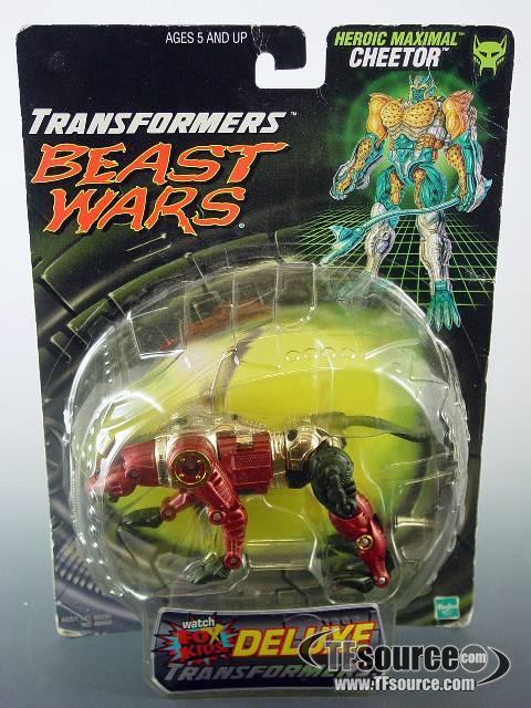 Transformers Beast Wars CHEETOR Complete Fox Kids Figure
