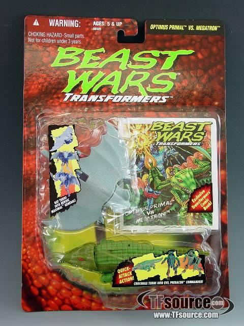 beast wars basics optimus primal vs megatron mosc