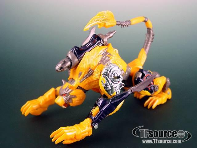 Beast Wars Transmetals 2 Cheetor Loose 100 Complete