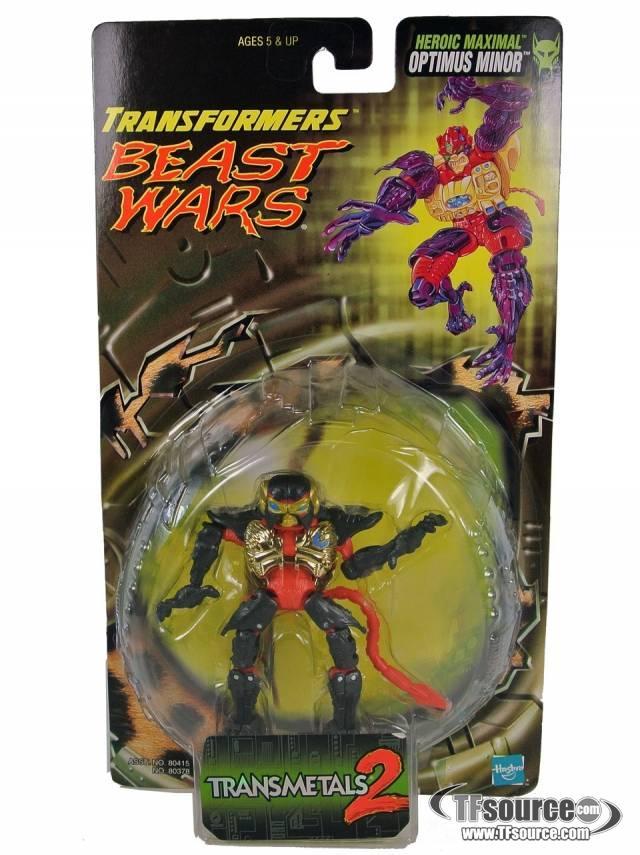 Beast Wars - Transmetal 2 - Optimus Minor - MOSC