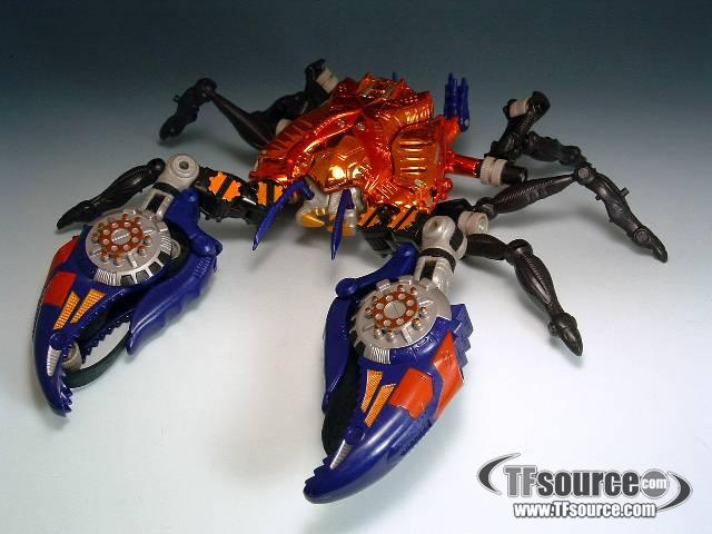 Beast Wars - Transmetals - Rampage - Loose - As Is