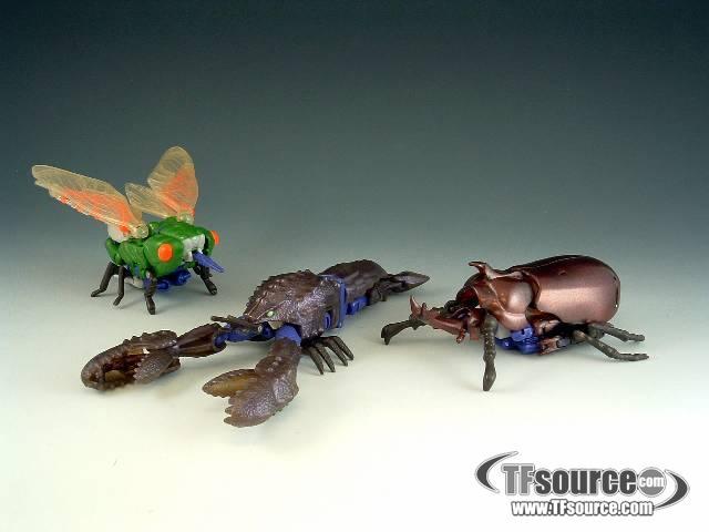 Beast Wars - Series  - Tripredacus - Loose - 100% Complete