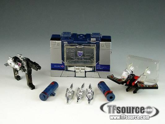 Reissue - Commemorative Series - Soundwave - Loose - 100% Complete