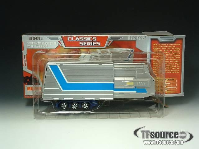 BTS-01S Classics Prime Trailer - Red and Silver Version - MIB - 100% Complete