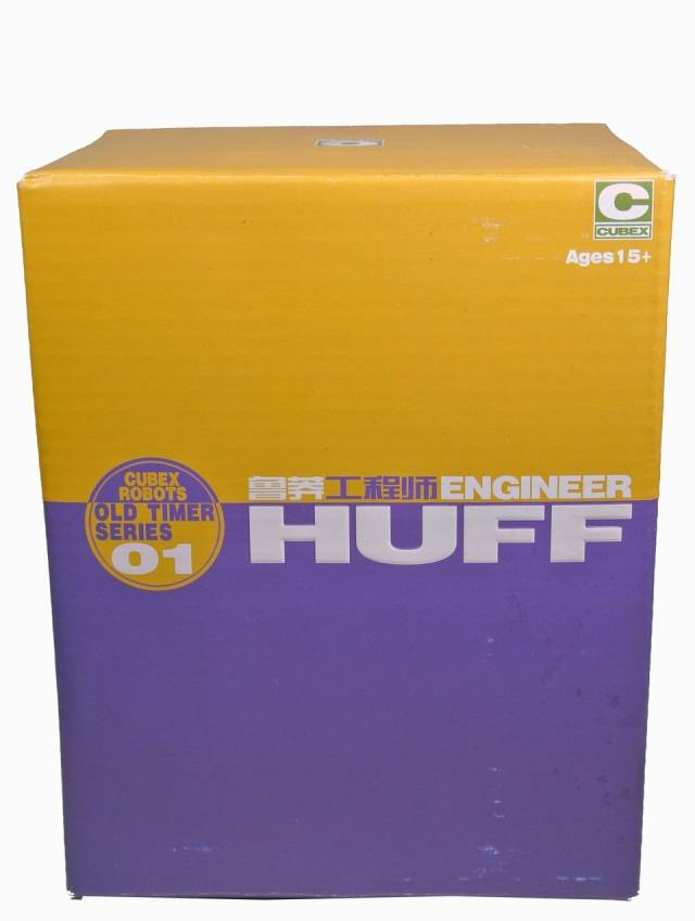 Cubex - Old Timer Series 01 - Engineer Huff - MIB - 100% Complete