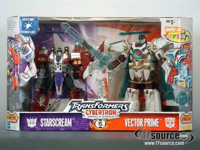 Cybertron - Vector Prime vs Starscream - MISB Vintage Hasbro Toys