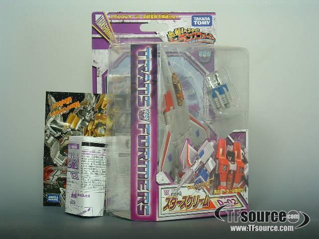 Henkei Classics - D-02 Starscream - MOC - 100% Complete