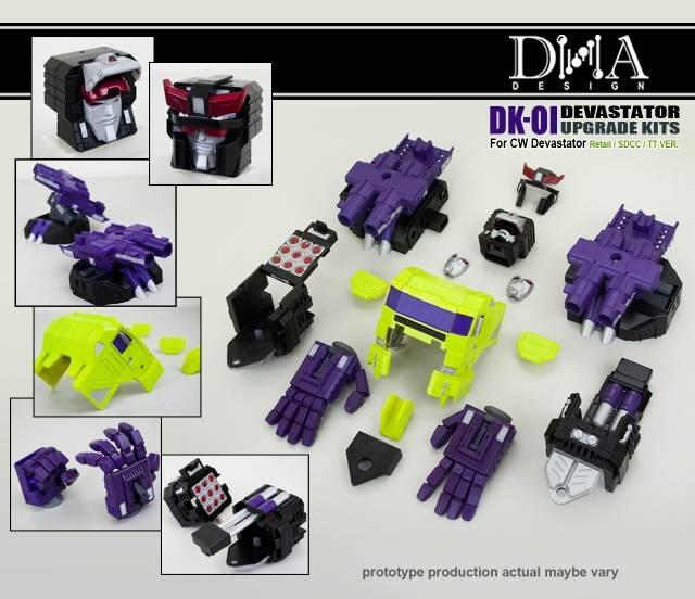 DNA Design - DK-01 - Devastator Upgrade Kit