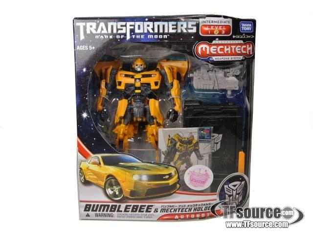 DOTM - MechTech Deluxe - Bumblebee & MechTech Holder - MISB
