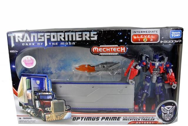 DOTM - DA-03 Optimus Prime with Mechtech Trailer - MIB - 100% Complete