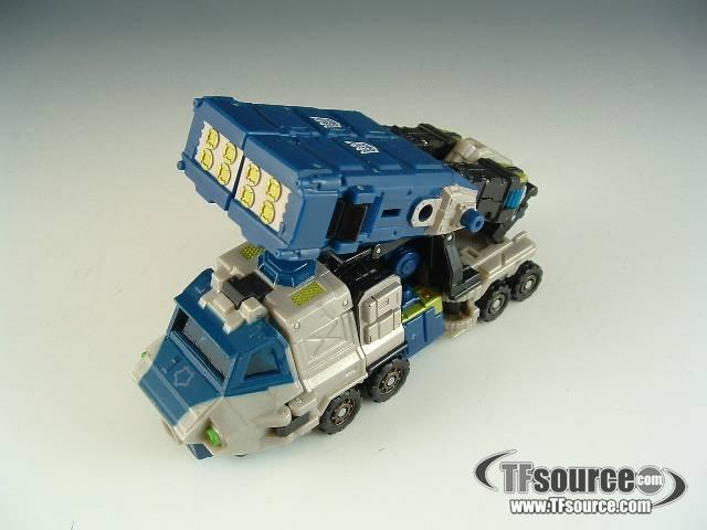 Energon  - Barricade - Loose - Missing Combined Mode Head