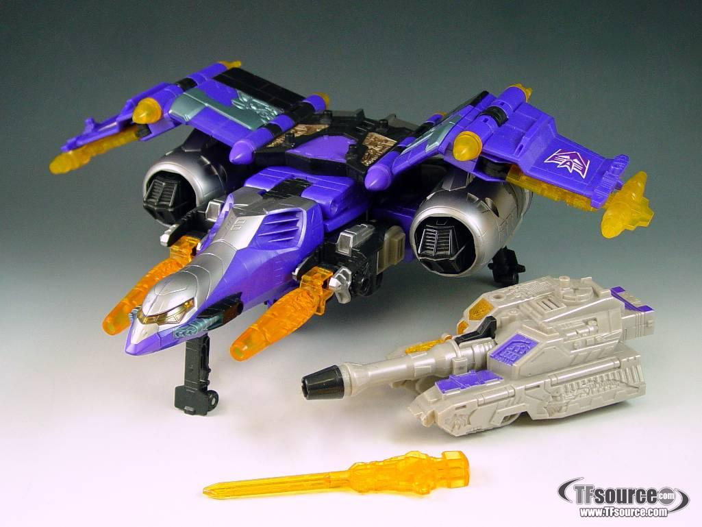Energon - Super class - Galvatron - Loose - Missing Missile
