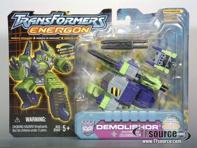 Energon - Demolishor (Armada Repaint)- MOSC