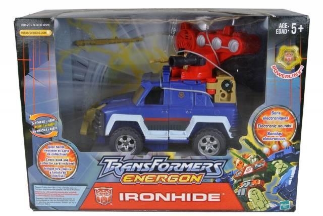 Energon - Ironhide - MIB - 100% Complete