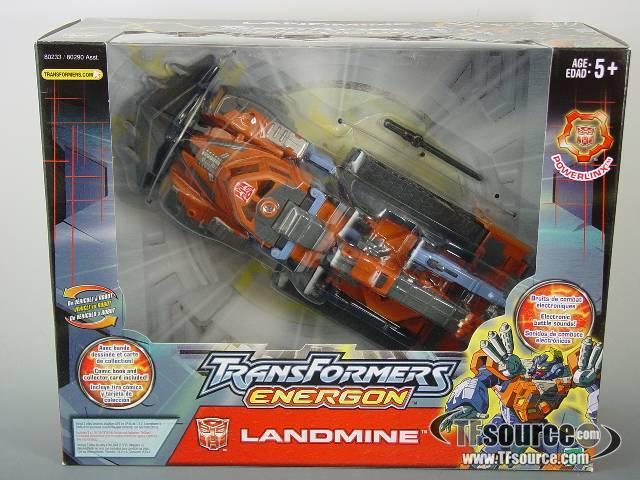 Energon - Landmine - MISB