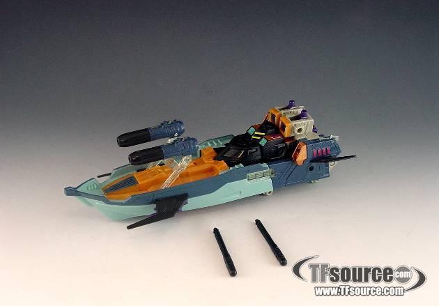 Energon - Mega Class - Mirage - Loose - Missing 2 Missiles