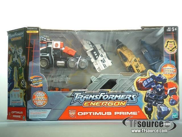 Energon - Optimus Prime - MIB - 100% Complete