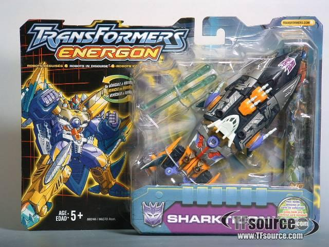 Energon - Sharkticon - MOSC