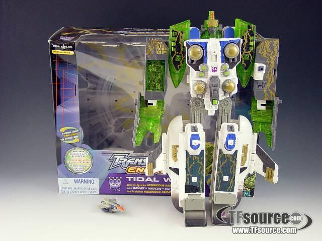 Energon - Tidal Wave w/ Mini-Con Ramjet - MIB - Missing Missiles