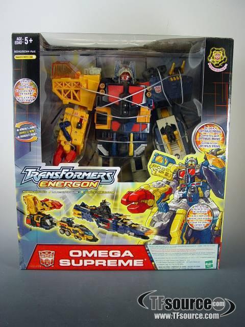 Energon - Omega Supreme - MISB