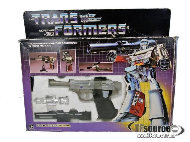 Transformers G1 - Megatron - MIB - Missing instructions