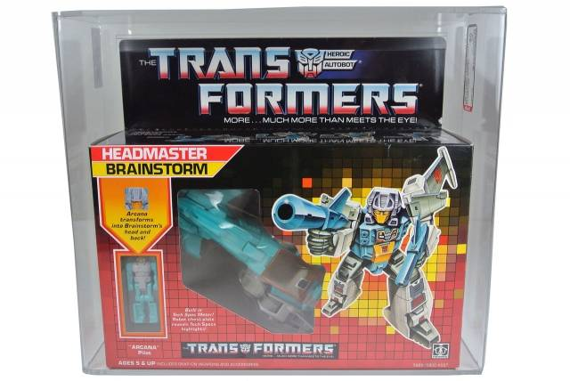 Transformers G1 - Brainstorm - Qualified AFA 80
