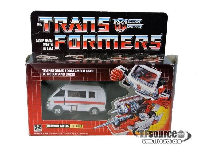 Transformers G1 - Ratchet - MIB - 100% Complete Vintage Hasbro Toys
