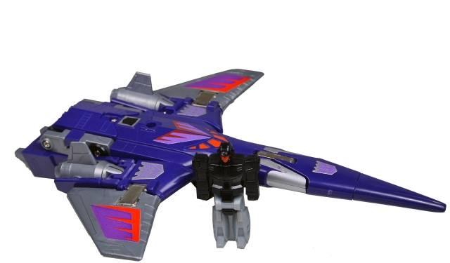 Transformers G1 - Targetmaster Cyclonus - Loose - 100% Complete