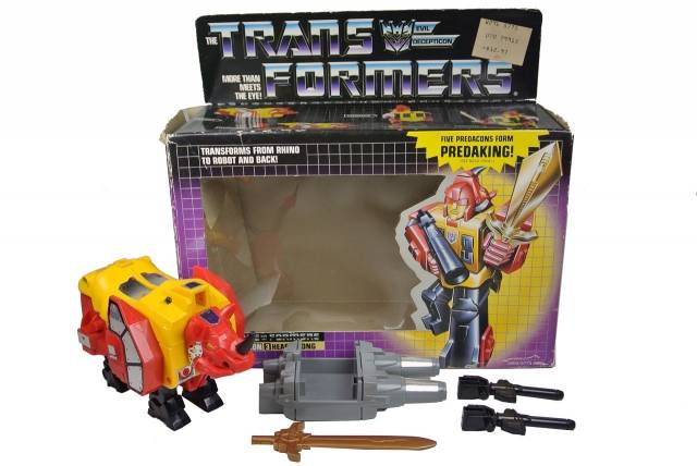 Transformers G1 - Headstrong - MIB - 100% Complete