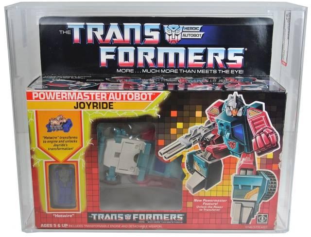 Transformers G1 - Joyride - Qualified AFA 75