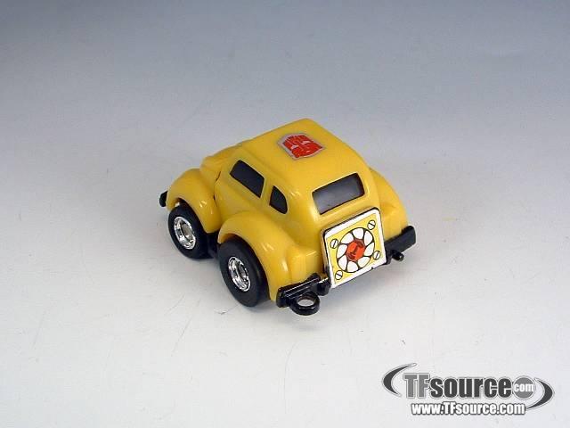 G1 Loose - Minibot Bumblebee - Key Chain! - No Chain