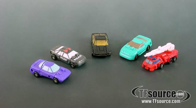 Transformers G1 - Assorted Micromasters - Loose - As Is
