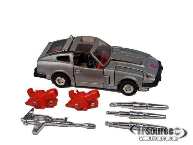 Transformers G1 - Bluestreak - Loose - 100% Complete
