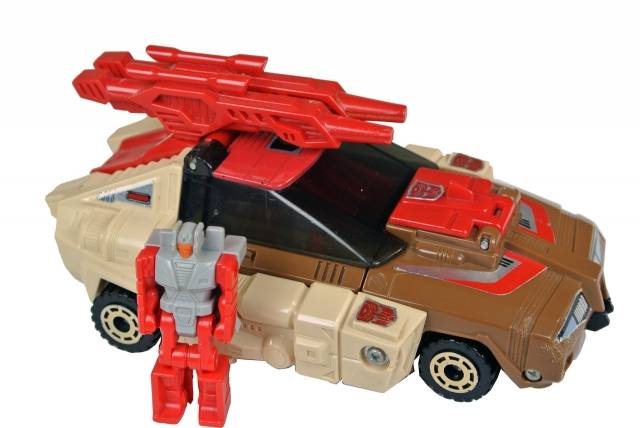 Transformers G1 - Chromedome w/ Stylor - Loose - 100% Complete