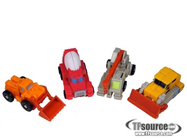 Transformers G1 - Construction Patrol - Loose - 100% Complete