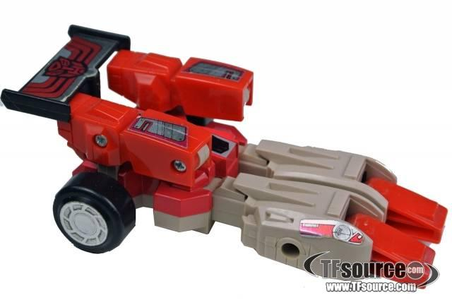 Transformers G1 - Fastlane - Loose - Missing weapons