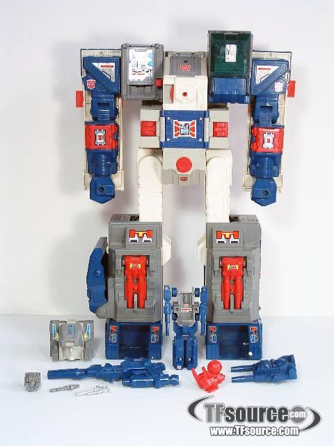 Transformers G1  - Fortress Maximus - Headmaster - Loose - 100% Complete