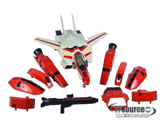 Transformers G1 - Jetfire - Loose - Missing mounting pod
